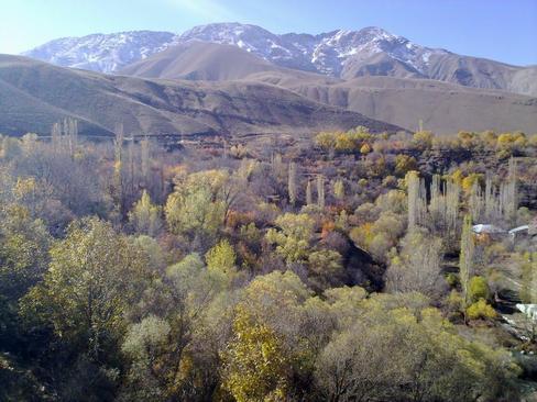 آبشار ارنگه جاده چالوس