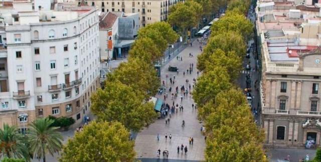 خیابان لارامبلا بارسلونا اسپانیا