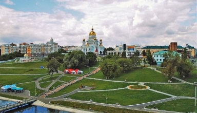 پارک پوشکین سارانسک روسیه