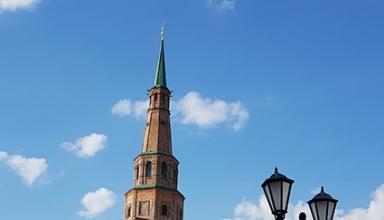 برج سویومبیکه کازان روسیه