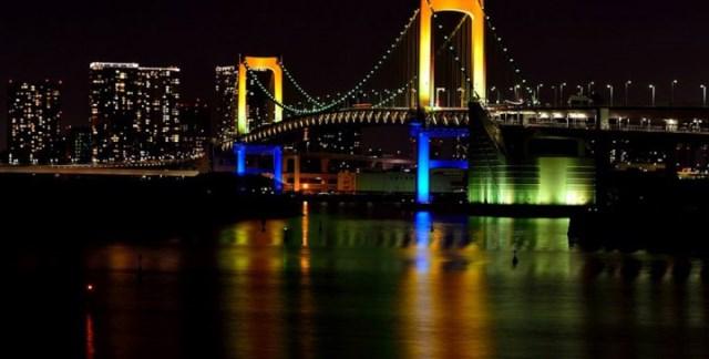 پل رنگین کمان توکیو ژاپن