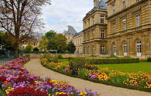 پارک لوکزامبورگ پاریس