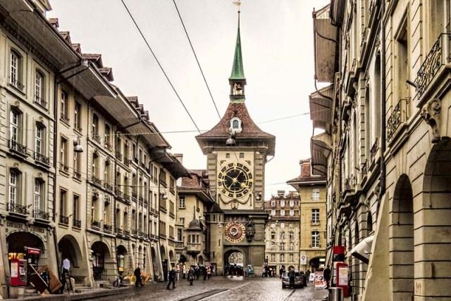 برج ساعت برن سوئیس