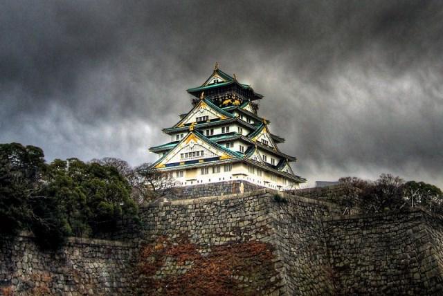 قلعه اوساکا ژاپن