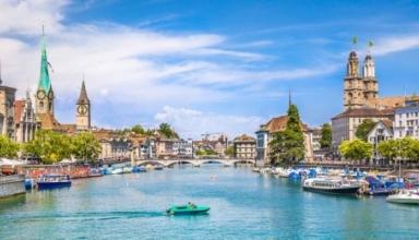 دریاچه زوریخ سوئیس