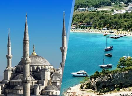 تور استانبول یا تور آنتالیا