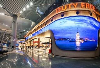مدرترین و بزرگ ترین فرودگاه ترکیه در شهر استانبول