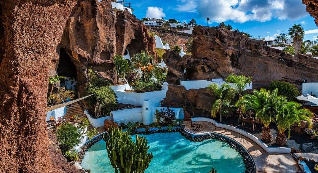خانه عمر شریف در لانزاروته اسپانیا