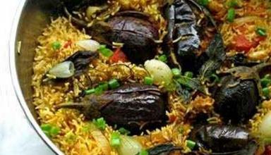 11 17 730x540 384x220 - بادمجان پلو از غذاهای محلی قزوین