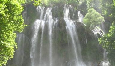 آبشار زردلیمه شهرکرد