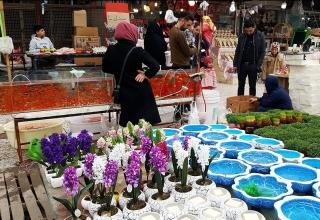 بازار گل مشهد