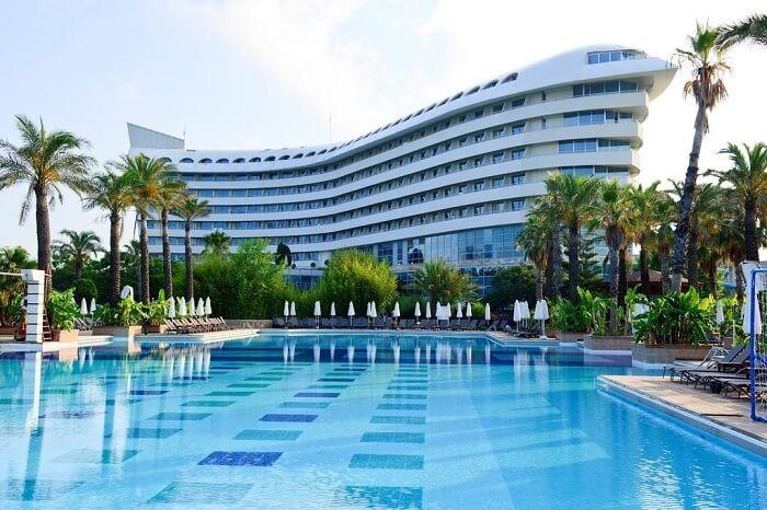 بهترین هتل در آنتالیا