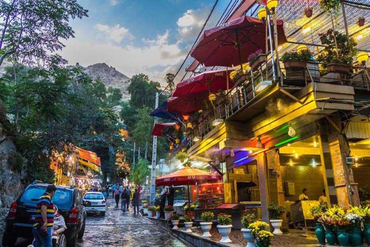 جاهای دیدنی تهران , مکان های دیدنی تهران