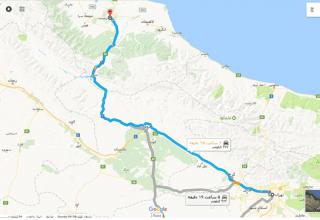 جاذبه های دیدنی مسیر تهران رشت با اتوبوس