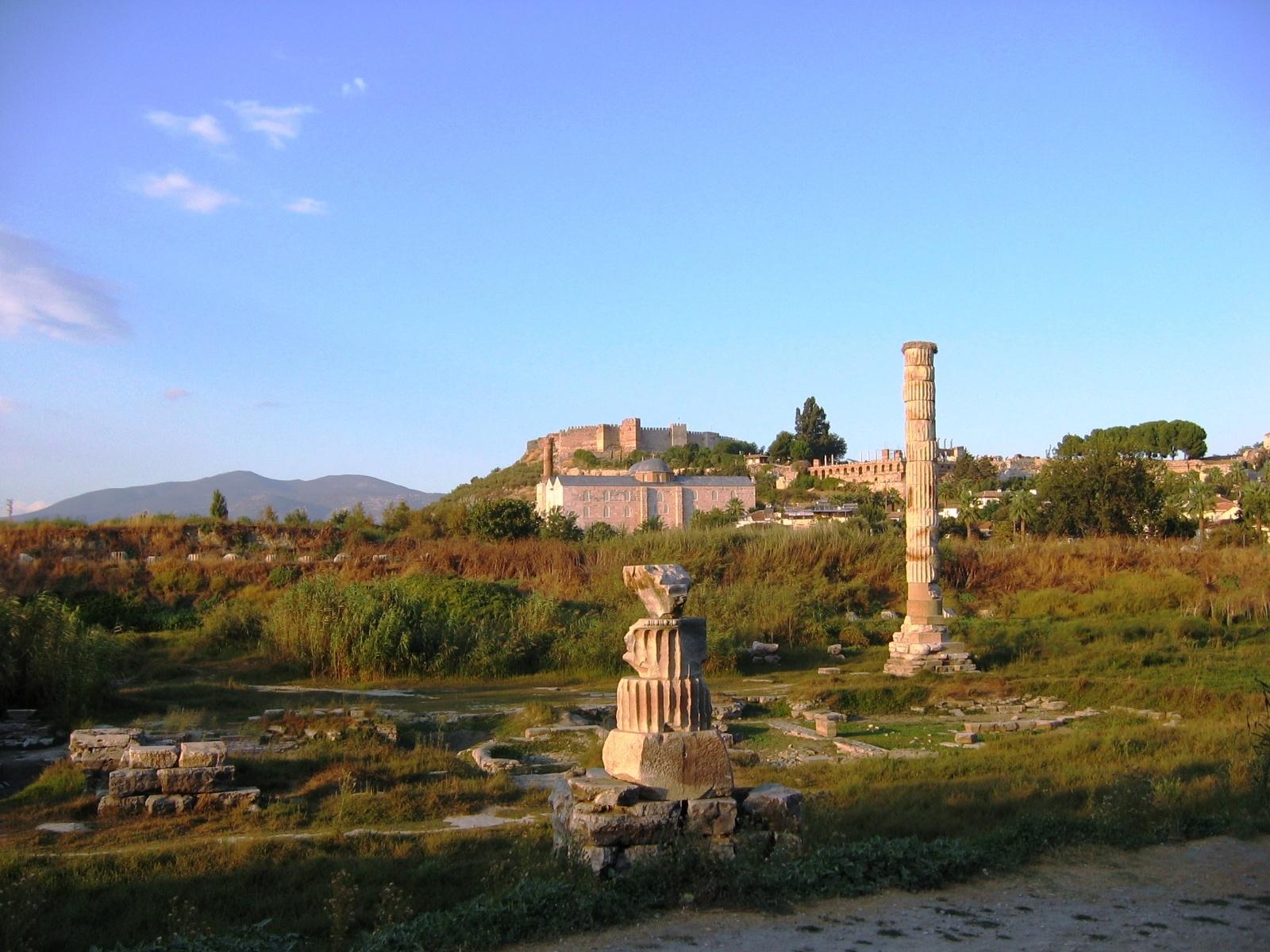 معبد آرتمیس در ترکیه