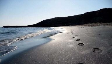 ساحل نقره ای جزیره هنگام