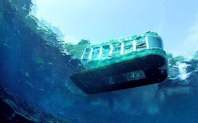 کشتی آکواریوم کیش