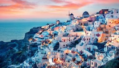 تور مجازی جزیره سانتورینی یونان