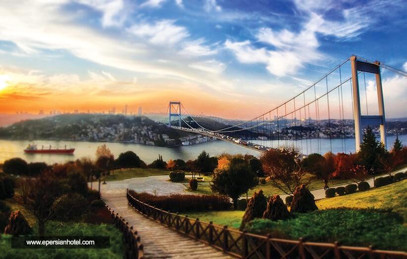 تور استانبول و بازدید از تنگه بسفر