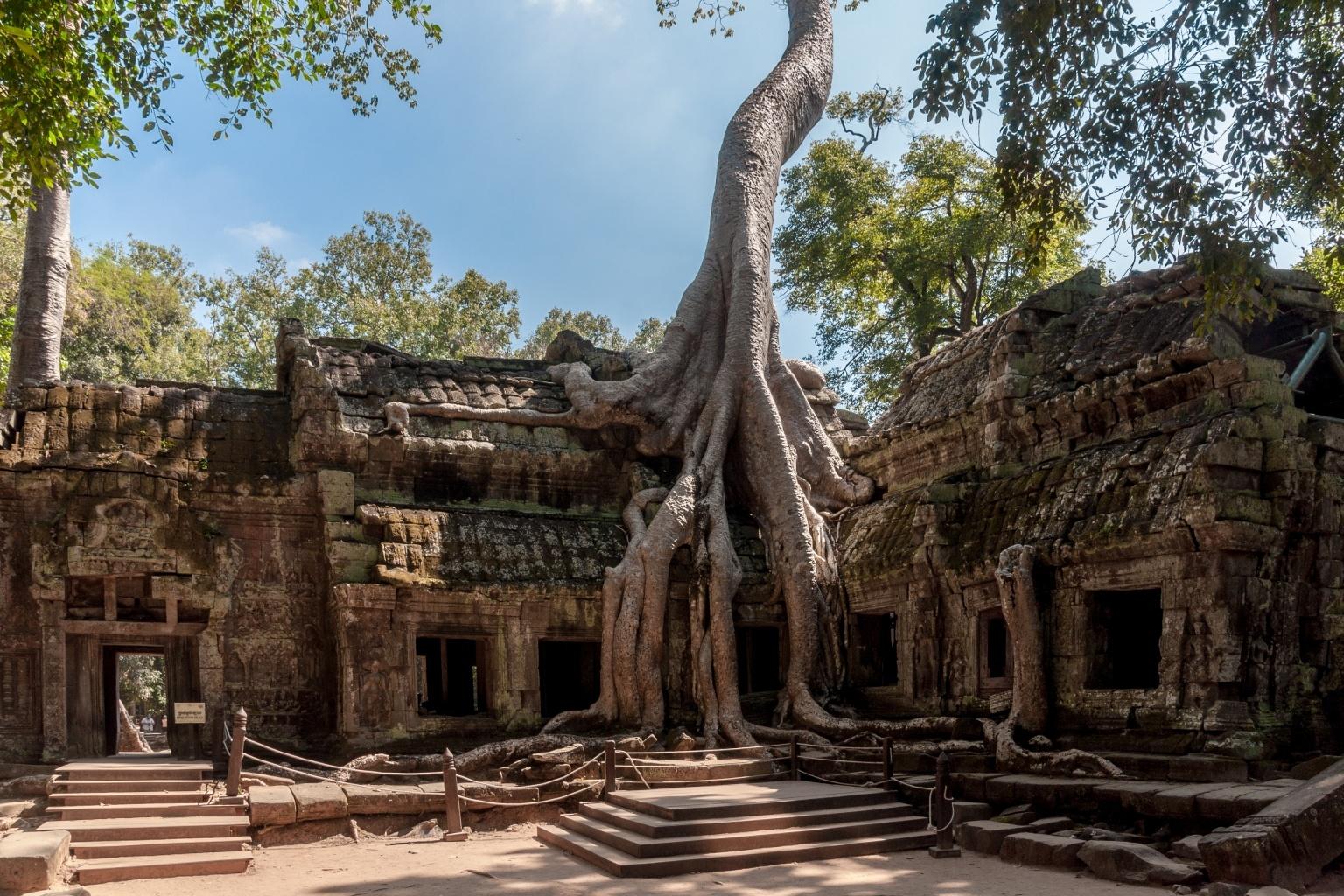 معبد تاپروم کامبوج