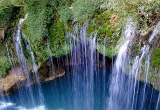 آبشار هریجان، محبوب ترین جاذبه چالوس