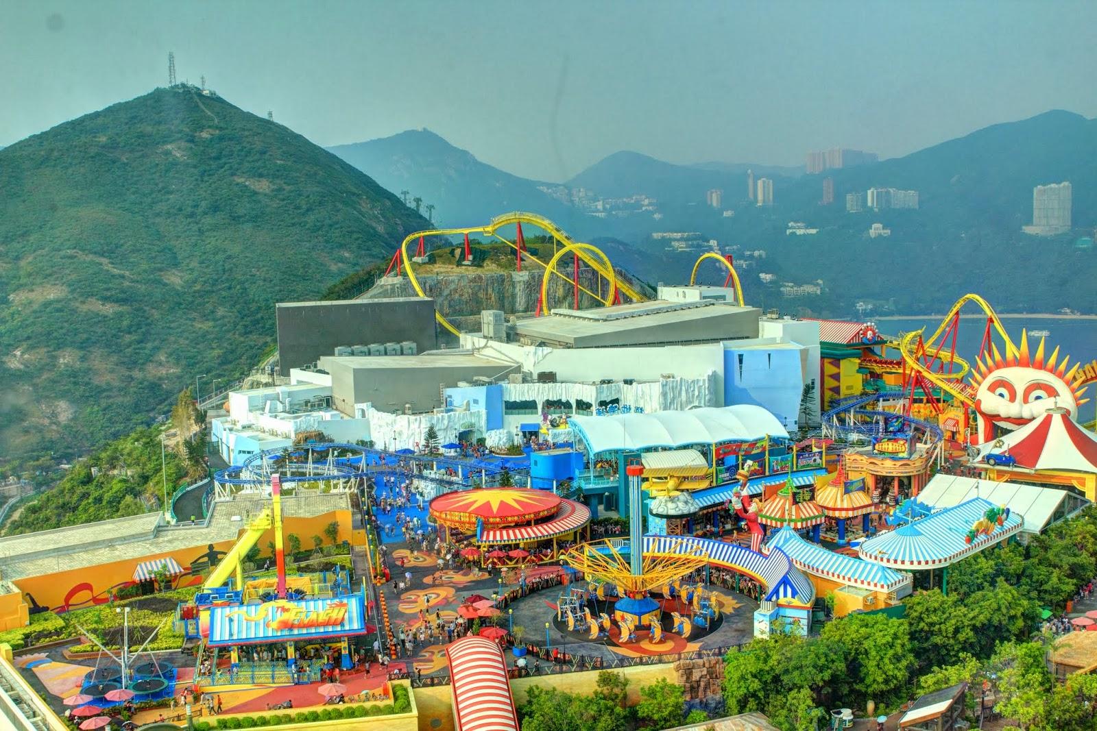 پارک اوشن هنگ کنگ