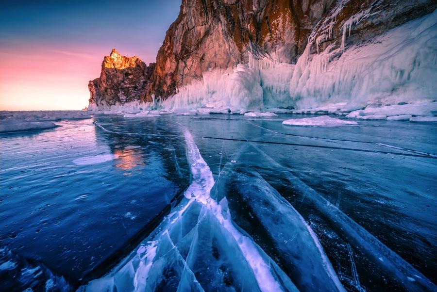 دریاچه بایکال روسیه