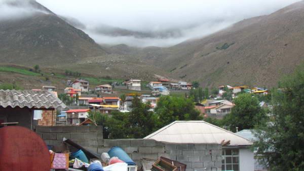 روستای ناندل آمل ، پنهان شده در دل ابرها
