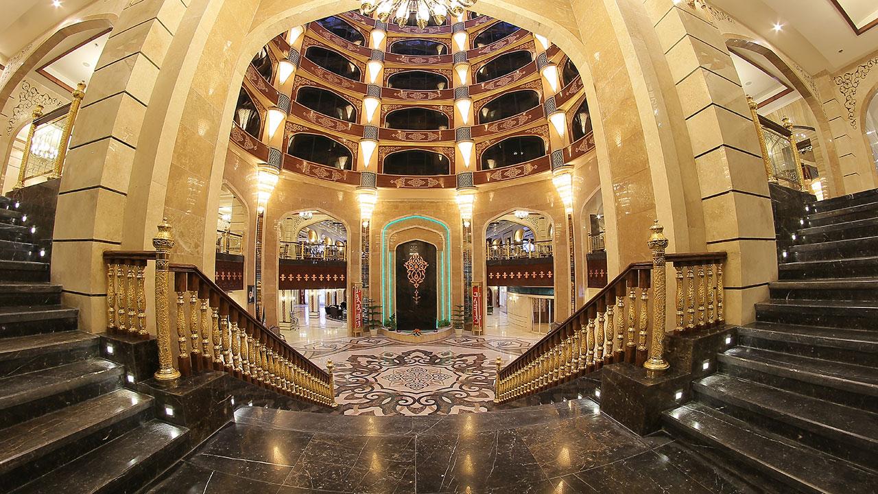 3 مورد از لاکچری ترین هتل های مشهد